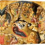 An Important Late Byzantine Icon Of The Nativity Of Christ giclee art print