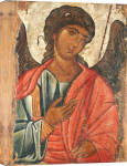 The Archangel Michael. Provincial Byzantine giclee art print