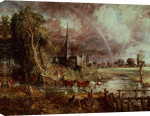 Salisbury Cathedral From the Meadows, 1831 giclee art print