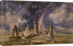 Stonehenge, 1835 giclee art print
