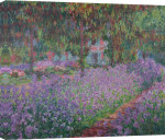 The Artist&#39;s Garden at Giverny, 1900 giclee art print
