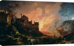 Coalbrookdale by Night, 1808 giclee art print