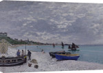 The Beach at Sainte-Adresse, 1867 giclee art print
