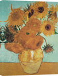 Sunflowers on Blue, 1888 giclee art print