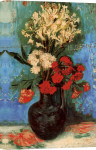 Vase with Carnations and Other Flowers, 1886 giclee art print