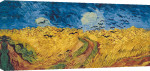 Wheatfield with Crows, 1890 giclee art print