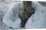 Phare de La Jument - The Lighthouse Keeper I giclee art print