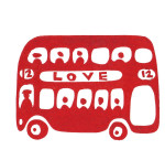 Love Bus giclee art print