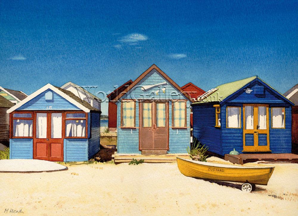 Beach House Canvas Prints