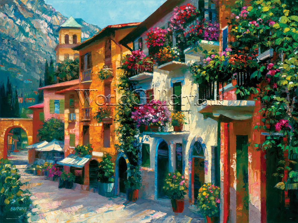 Village Hideaway Print By Howard Behrens Worldgallery Co Uk