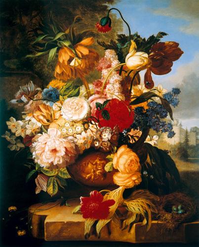 Stately Garden I by John Wainwright