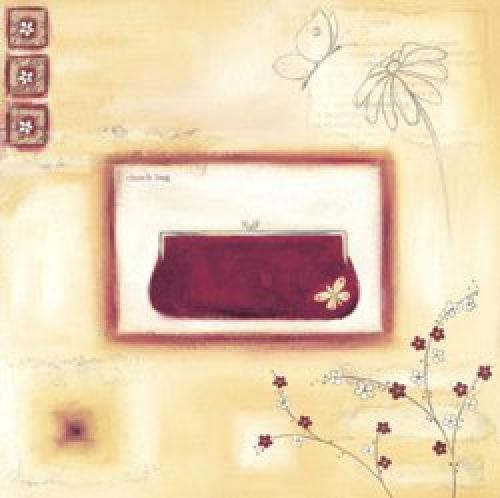 Red Evening Clutch by Lucy Barnard