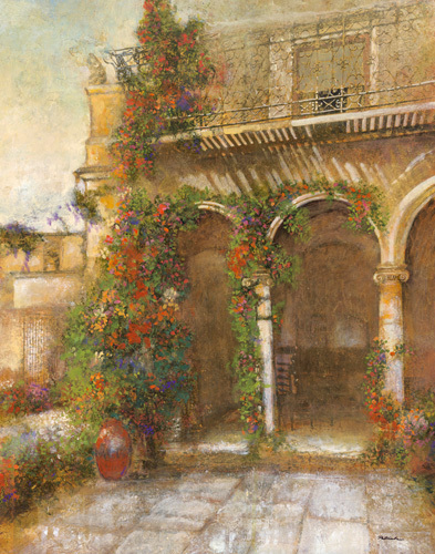 English Garden IV by Patrick