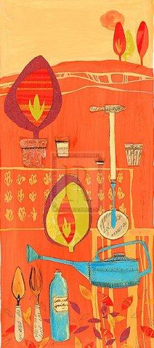 Marmalade Garden II by Liz Myhill