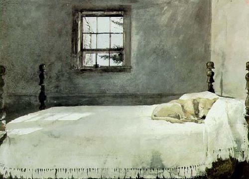 Mcveys barn framed print by andrew wyeth for The master bedroom print