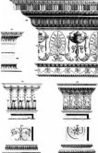 Neoclassical Entablature by Michel Angelo Pergolesi