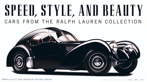 Speed Style and Beauty: Cars From the Ralph Lauren by Furman