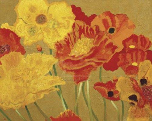 Poppy Garden I by Jean