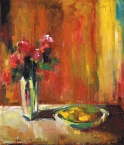 Still Life with Lemons by Jill Barton