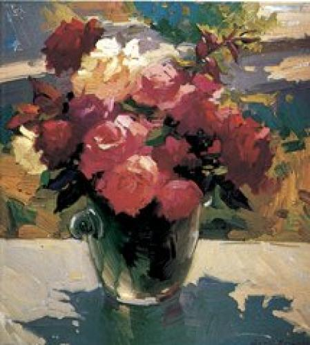 Still Life with Roses by Ovanes Berberian