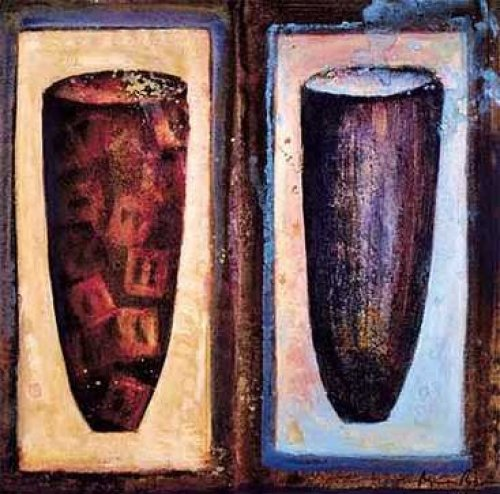 Favorite Vases I by Agnès Rodon