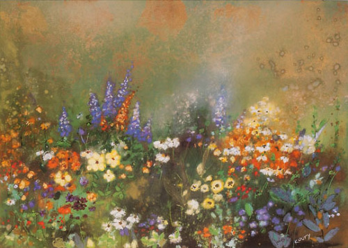 Meadow Garden III by Aleah Koury