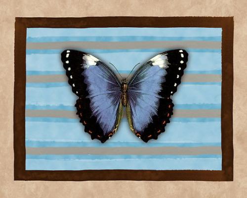 Les Papillons II by Cristina Mavaracchio