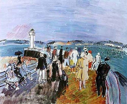 Honfleur Jette by Raoul Dufy