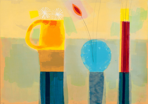 Three Vases #1#2001#2# by Russell Baker