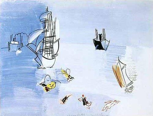 La Mer Vers 1925 by Raoul Dufy