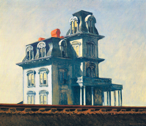 House by the Railroad 1925 by Edward Hopper