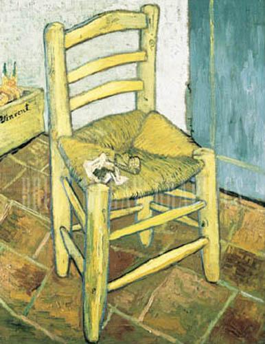 la chaise et la pipe vincent van gogh affiches posters. Black Bedroom Furniture Sets. Home Design Ideas