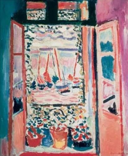 The open window collioure 1905 art print poster by henri for Matisse fenetre