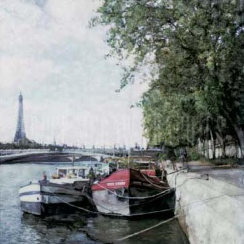 The Seine by Ernesto Rodriguez