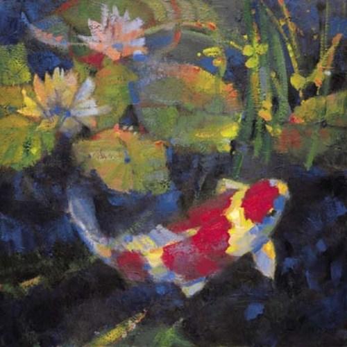 Water Garden I by Leif Ostlund