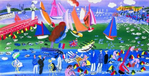 La Baie de Sainte Adresse by Raoul Dufy