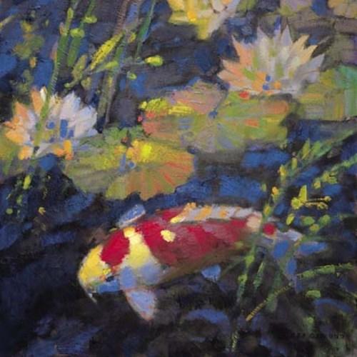 Water Garden II by Leif Ostlund