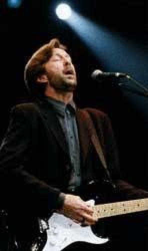 Eric Clapton In Concert Brighton (Large size) by Celebrity Image