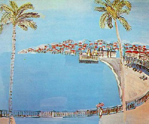 Bay Of Angels by Raoul Dufy