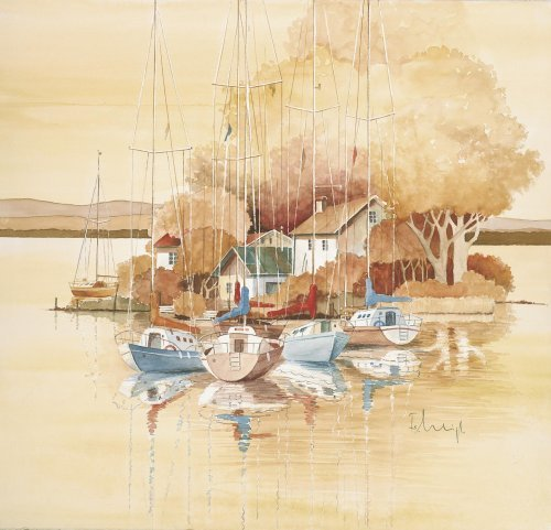 Seaside I by Franz Heigl