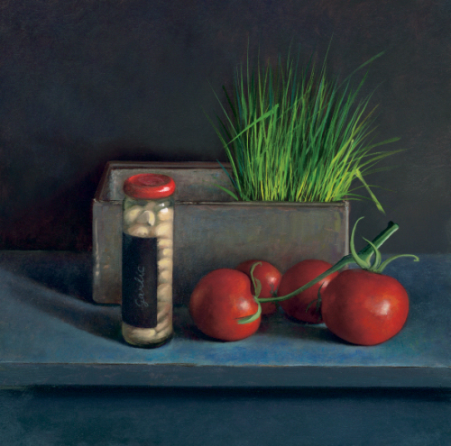 Still Life with Tomato by Jos Van Riswick