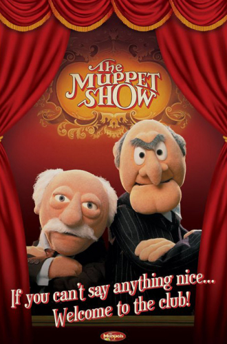 waldorf and statler. (Statler and Waldorf) by