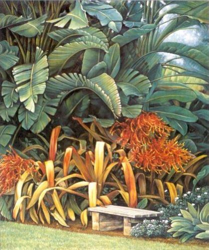 Tropical Garden II by Elizabeth Wright