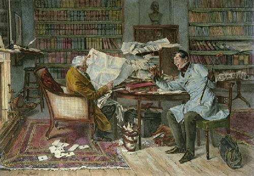 Little Mortgage A (Restrike Etching) by Walter Dendy Sadler