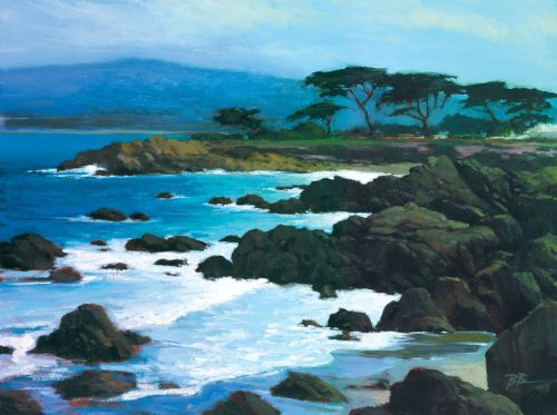 Coastline At Pacific Grove by Brian Blood