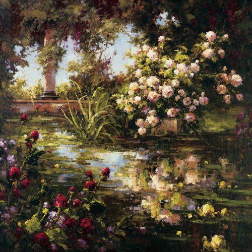 Juliets Garden III by Gabriela