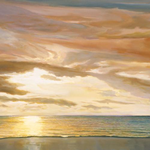 Quiet Horizon II by Dan Werner