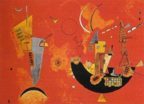 Art Mit und Gegen, 1929 by Wassily Kandinsky
