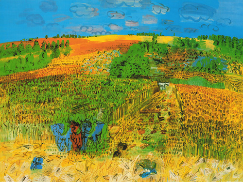 The harvest by Raoul Dufy