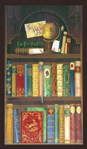 Antique Bookcase by Pia